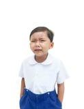 A crying boy royalty free stock photos