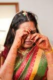 Crying Bride Royalty Free Stock Image