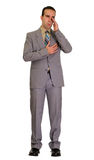 Crying Businessman Royalty Free Stock Photo