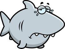 Crying Cartoon Shark Royalty Free Stock Images