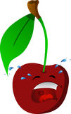 Crying cherry Royalty Free Stock Photos
