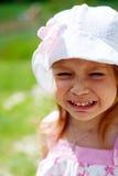 Crying child. Face close up Stock Photos