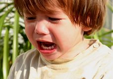 Crying Child stock photography
