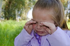 Crying child. Royalty Free Stock Image