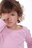 A crying child Stock Photo