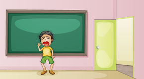 Crying in the classroom Stock Images