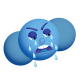 Crying cloud Stock Photos