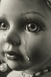 Crying Doll. Close up of crying doll Stock Photography