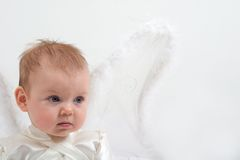 Crying fairy Stock Photos