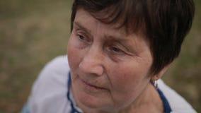 Crying feeling loneliness. Upset old mature woman, sad depressed aged senior