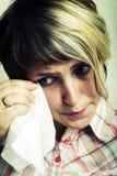 crying girl Στοκ φωτογραφία με δικαίωμα ελεύθερης χρήσης