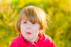 Crying girl Stock Photography
