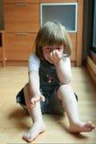 crying girl little Στοκ εικόνα με δικαίωμα ελεύθερης χρήσης
