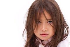 crying girl little Στοκ φωτογραφία με δικαίωμα ελεύθερης χρήσης