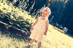 crying girl little Στοκ φωτογραφίες με δικαίωμα ελεύθερης χρήσης
