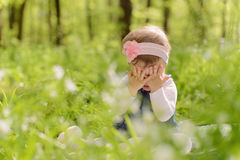 Crying Girl Royalty Free Stock Images