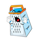 Crying grater cartoon Royalty Free Stock Images