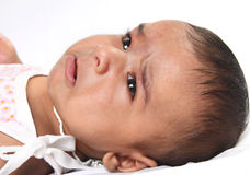 Crying Indian Baby Royalty Free Stock Photography