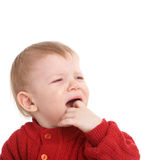 Crying kid Stock Image