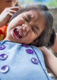 Crying kid Stock Photo
