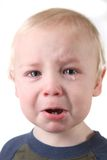 Crying Little Baby Boy Royalty Free Stock Photography