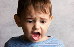 Crying little boy Royalty Free Stock Images