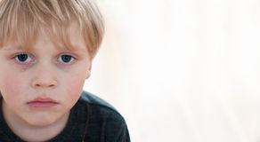 Crying little boy Royalty Free Stock Photography