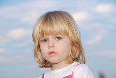 Crying little child Royalty Free Stock Images