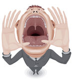 Crying man Royalty Free Stock Photography
