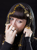 Crying sad woman Stock Image
