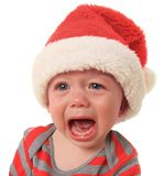 Crying Santa Stock Photos
