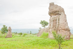 Crying stone in the stone filed Royalty Free Stock Photography