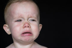 Crying Toddler Royalty Free Stock Photography