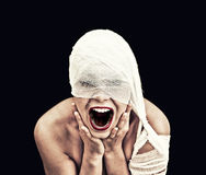 Crying woman Royalty Free Stock Photos