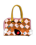 Crying woman handbag cartoon Royalty Free Stock Photography