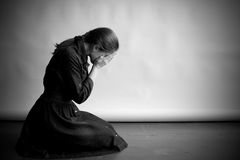 Crying woman Royalty Free Stock Photography