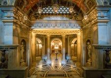 Crypt στη βασιλική του Santi ΧΙΙ Apostoli, στη Ρώμη, Ιταλία Στοκ εικόνα με δικαίωμα ελεύθερης χρήσης