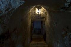 Crypt - τάφος Στοκ Φωτογραφία