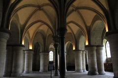 Crypt of Canterbury Cathedral England Stock Image