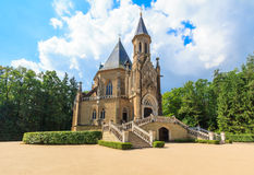 Crypt and church of the czech royal family Schwarzenberg Royalty Free Stock Photos