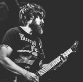 Crypt egzorty koncerta żywy 2017 metal, zatracenie metal, ciężki metal Fotografia Stock