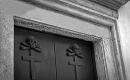 Crypt entrance in Vecchio Stock Photos