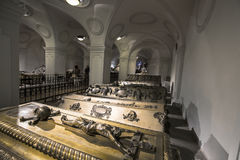Crypt of the Habsburger Kings in Vienna Stock Image