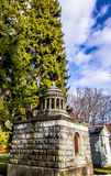 Crypt in Mount Hope Cemetery Royalty Free Stock Image