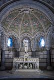 The crypt in notre dame de fourviere Royalty Free Stock Image