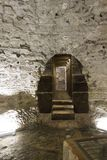 Crypt under Diocletian Palace in Split Royalty Free Stock Images