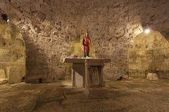 Crypt w katedrze rozłam Obrazy Stock