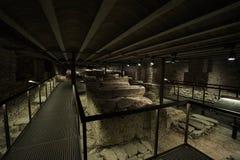 Crypta monaster Santa Maria Zdjęcia Royalty Free