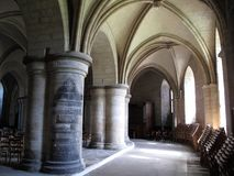 Crypte de cathédrale de Cantorbéry Photo stock