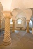 Crypte romane dans Deventer, Hollandes Photo stock